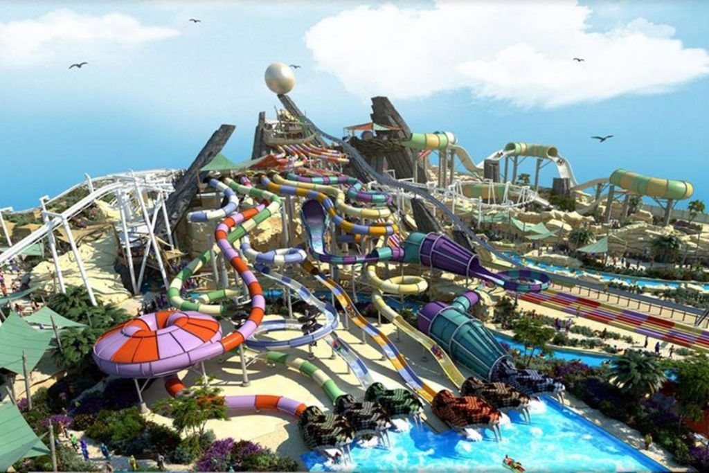 Image Result For The Best Amusement Park In The World Water Theme Park Best Amusement Parks Ferrari World Abu Dhabi