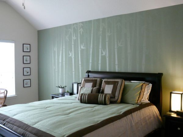 Elegant Five Asian Inspired Wall Covering Ideas Nice Look