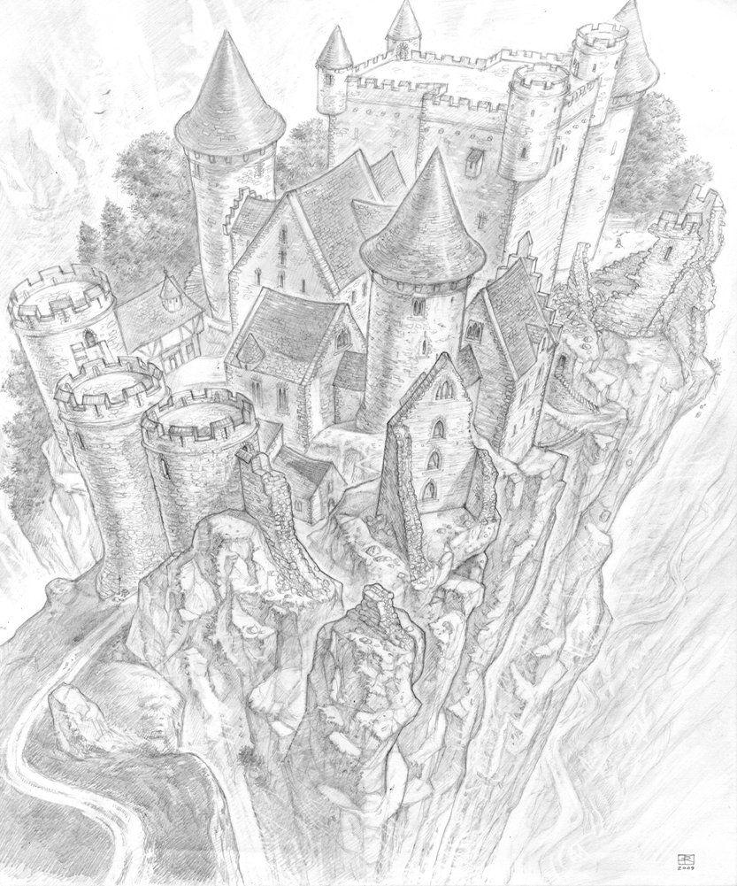 Lancre castle