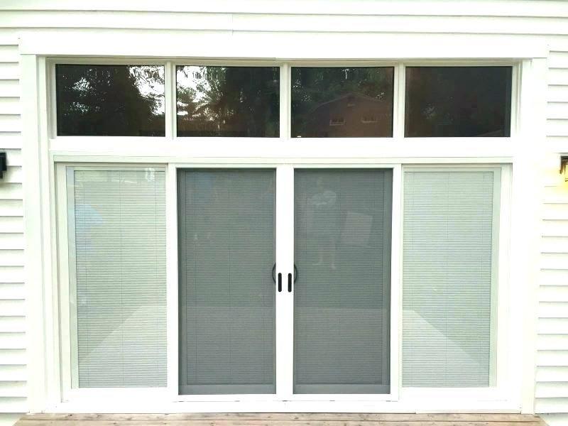 3 Panel Door With Glass 3 Panel Glass Door 4 Panel Sliding Patio