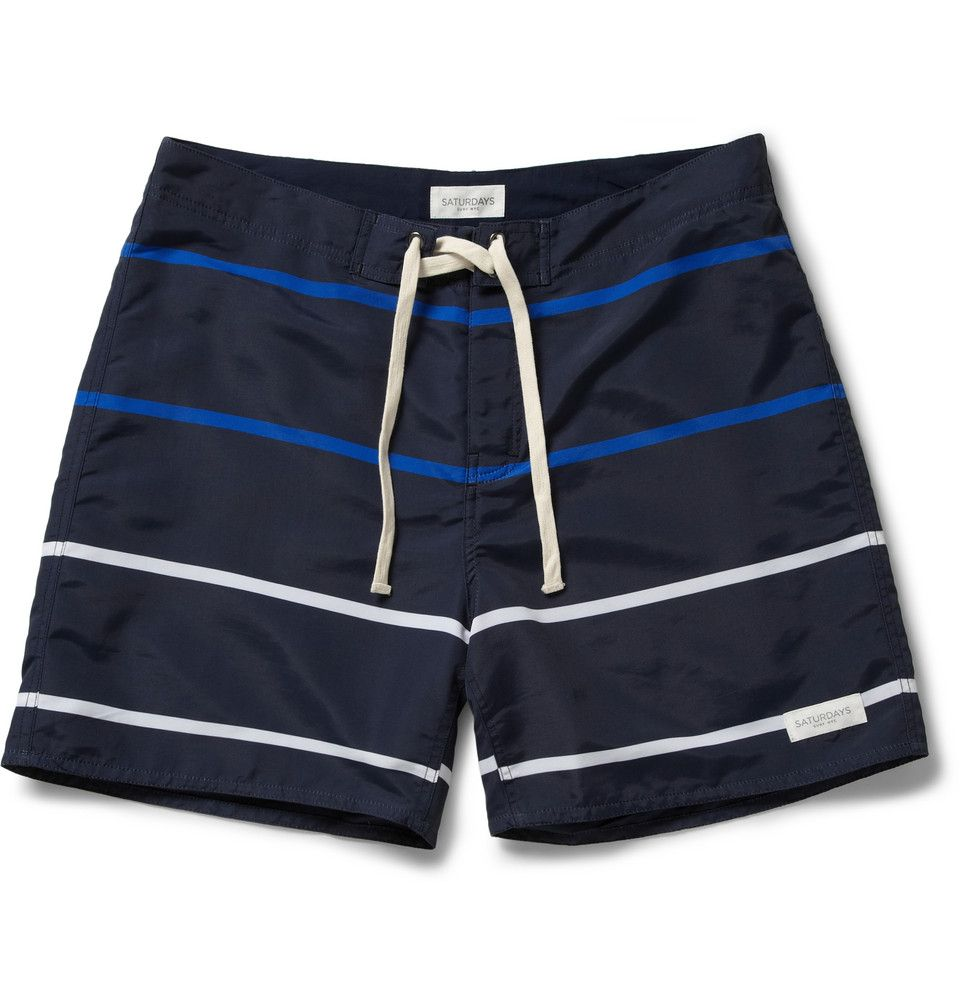 printed swim shorts - White Saturdays Surf NYC Clearance Best Place Free Shipping Affordable jCqmQan1