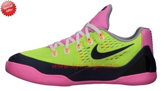 9793decfe511 Volt Midnight Navy-Pink Glow-Wolf Grey 653593-701 Nike Kobe 9 EM GS Womens  Store Online XL75MA