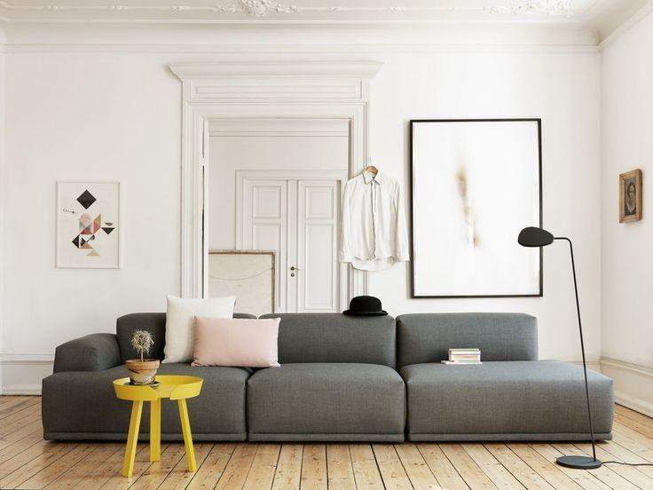 Idée de canapé design gris dans séjour moderne → touslescanapes ...