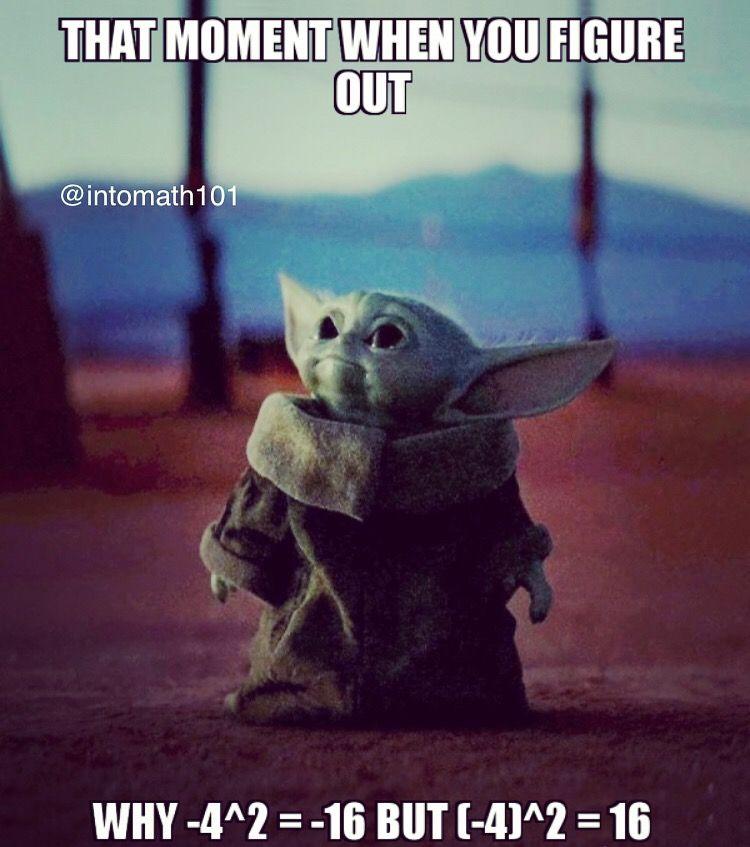 Math Meme Yoda Funny Yoda Meme Star Wars Memes