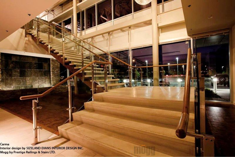Stainless Steel Railing with Frameless Glass ZeX from MOGG ...