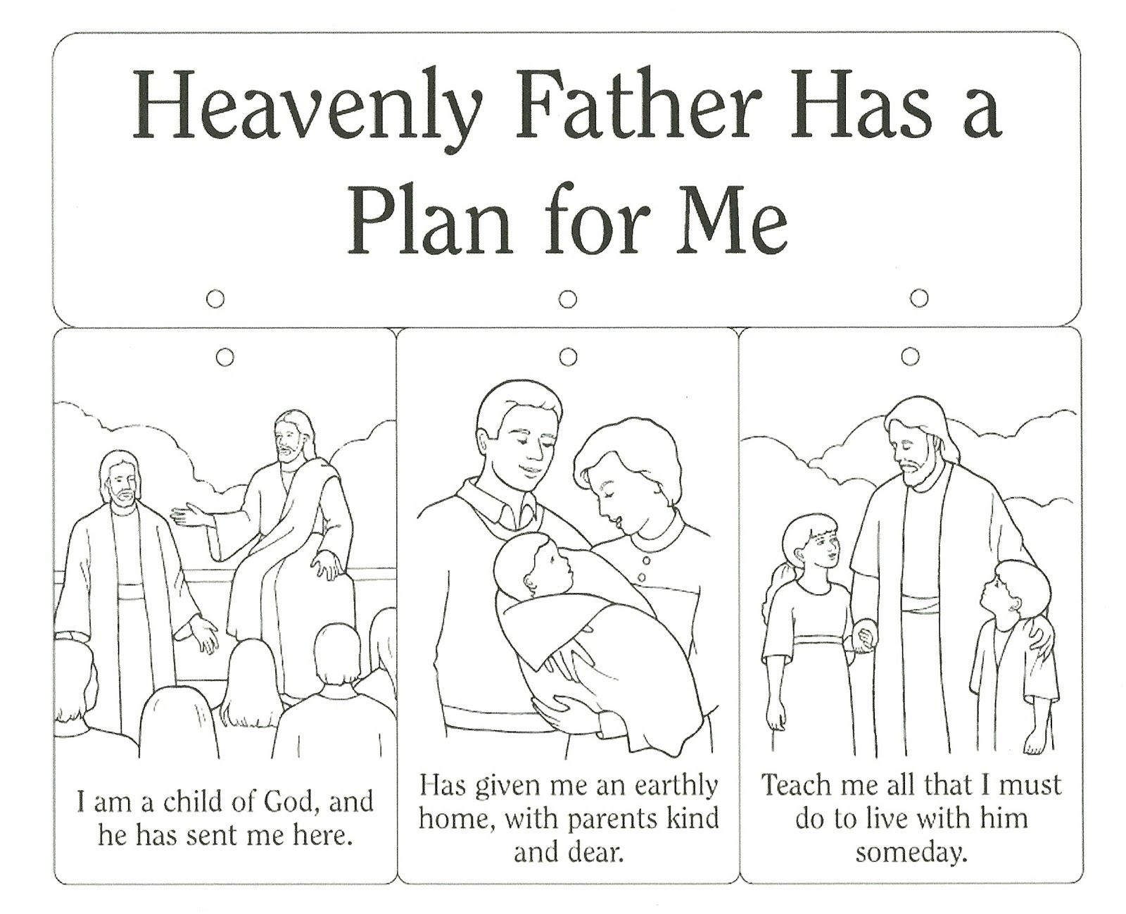 Primary 2 Lesson 4 Heavenly Father Primary Lessons