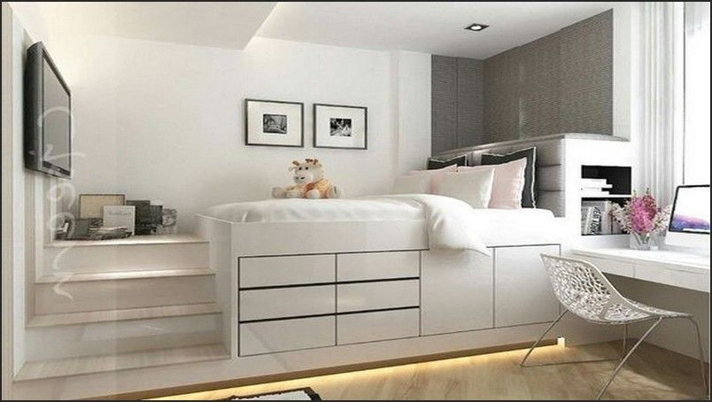 Enchanting Ikea Hack Platform Bed With Storage Design Bedroom In