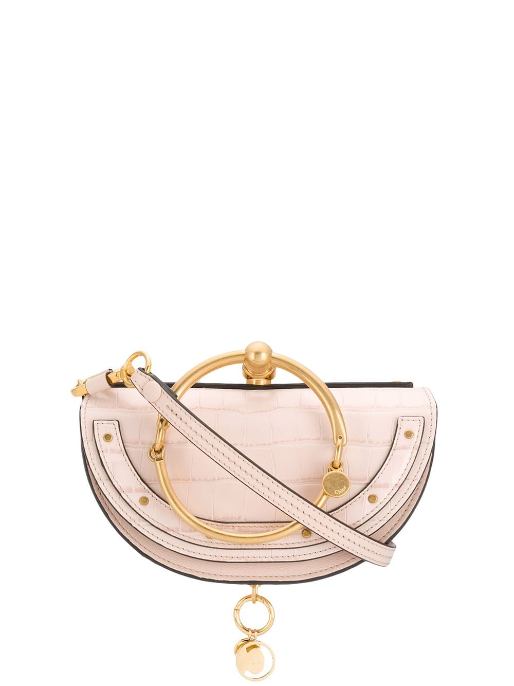 13ca227b Chloé Nile Minaudiere tote - Pink in 2019 | Products | Chloe logo ...