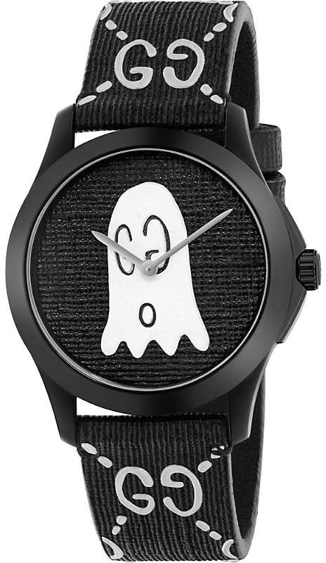 4eb7e7165ba YA1264018 G-Timeless Ghost stainless steel and rubber watch in 2018 ...