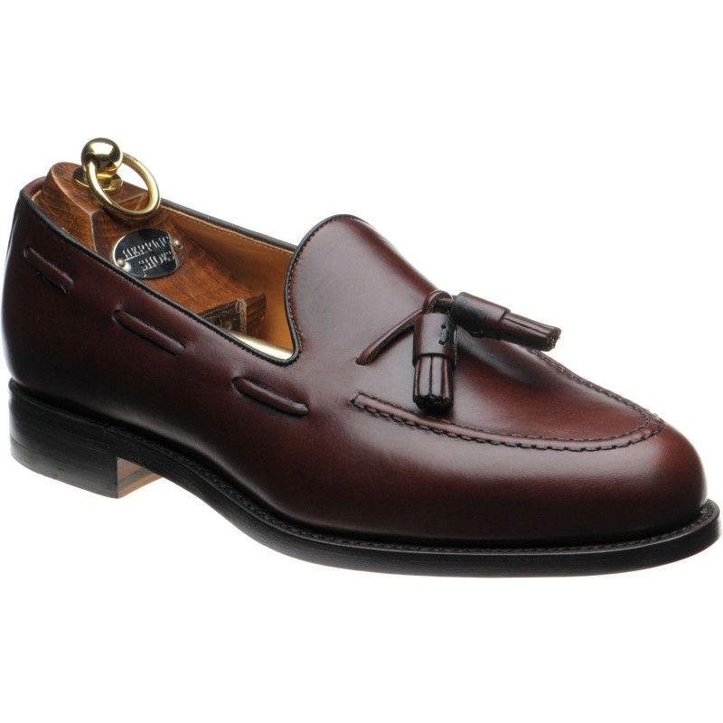 Barcelona II Tasselled Loafers in Conker Calf