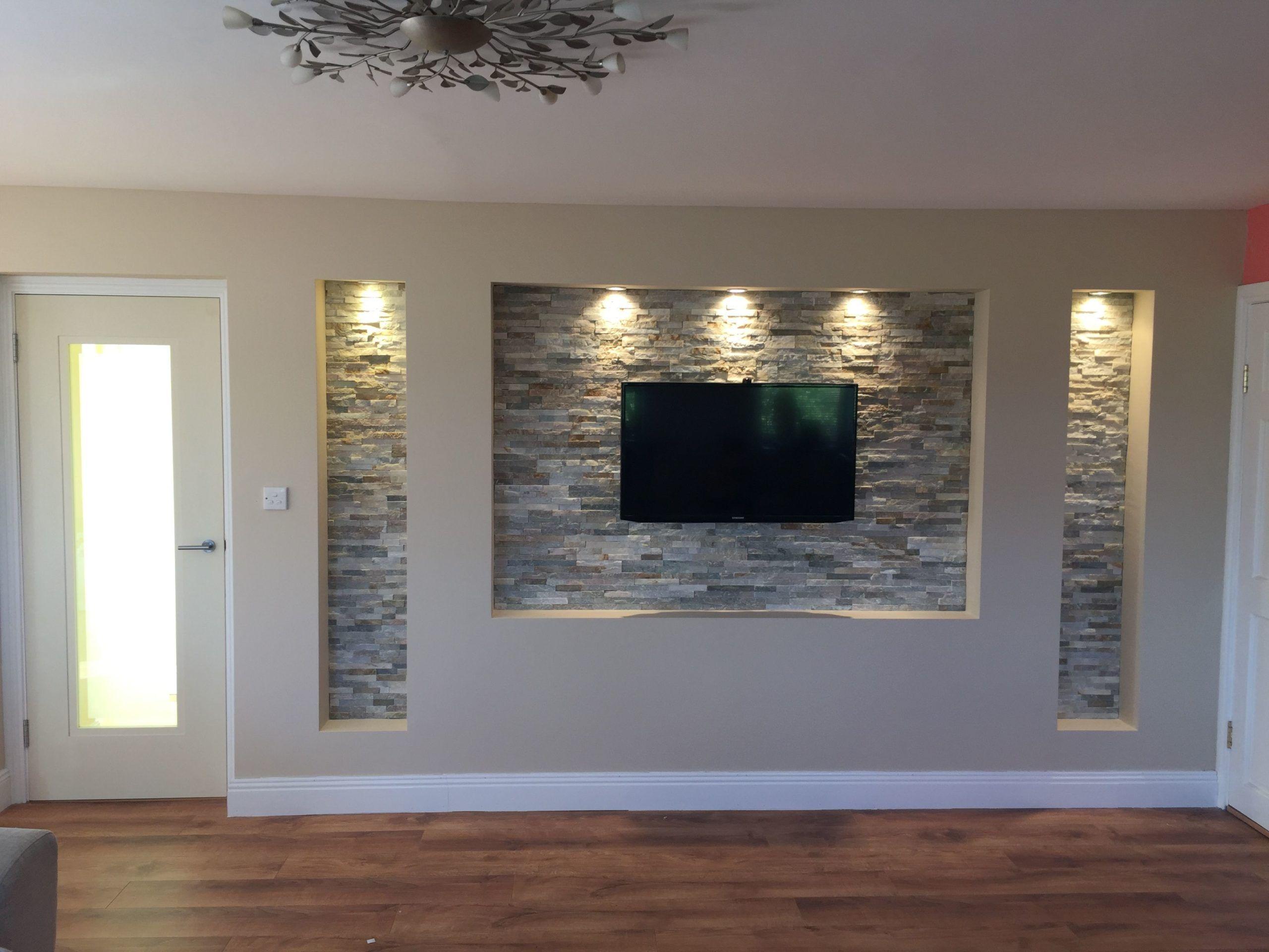 TV-Wand in 10  Tv wanddekor, Deckenarchitektur, Wohnzimmer design