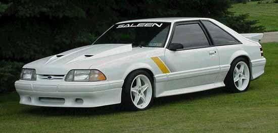 1989 Mustang Saleen Ford Mustang Saleen Fox Body Mustang Saleen Mustang