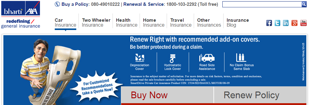 Bharti Axa Car Insurance Insurance Benefits Car Insurance