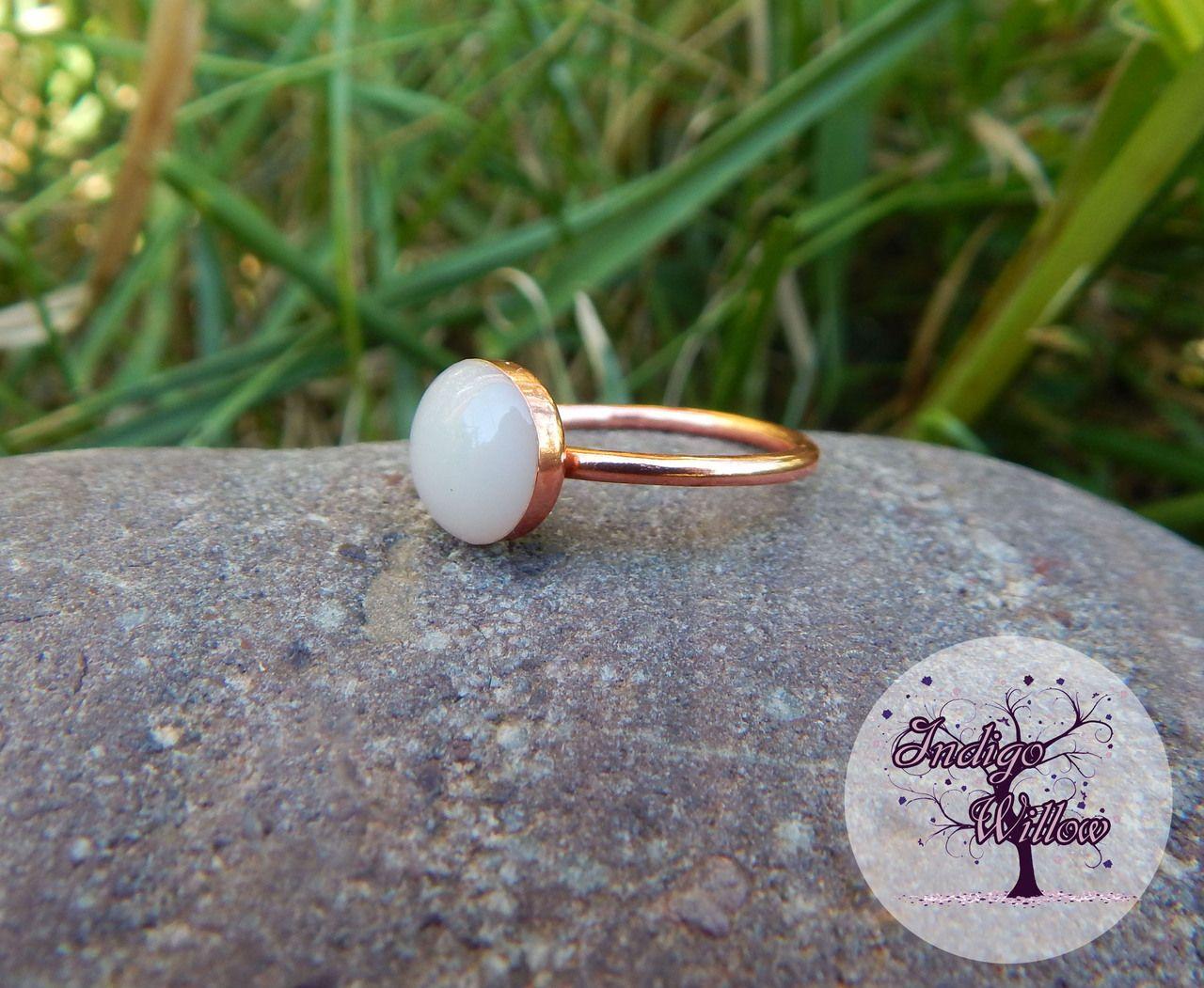 Copper Breast Milk Ring Indigo Willow Breast Milk Jewelry