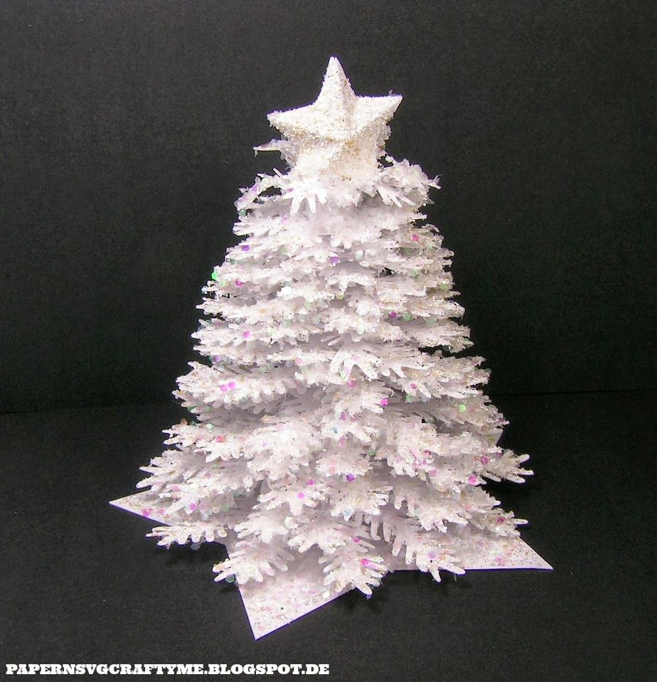 Paper N Svg Crafty Me Luanas 3d Christmas Tree 3d Christmas Tree Christmas Designs Christmas