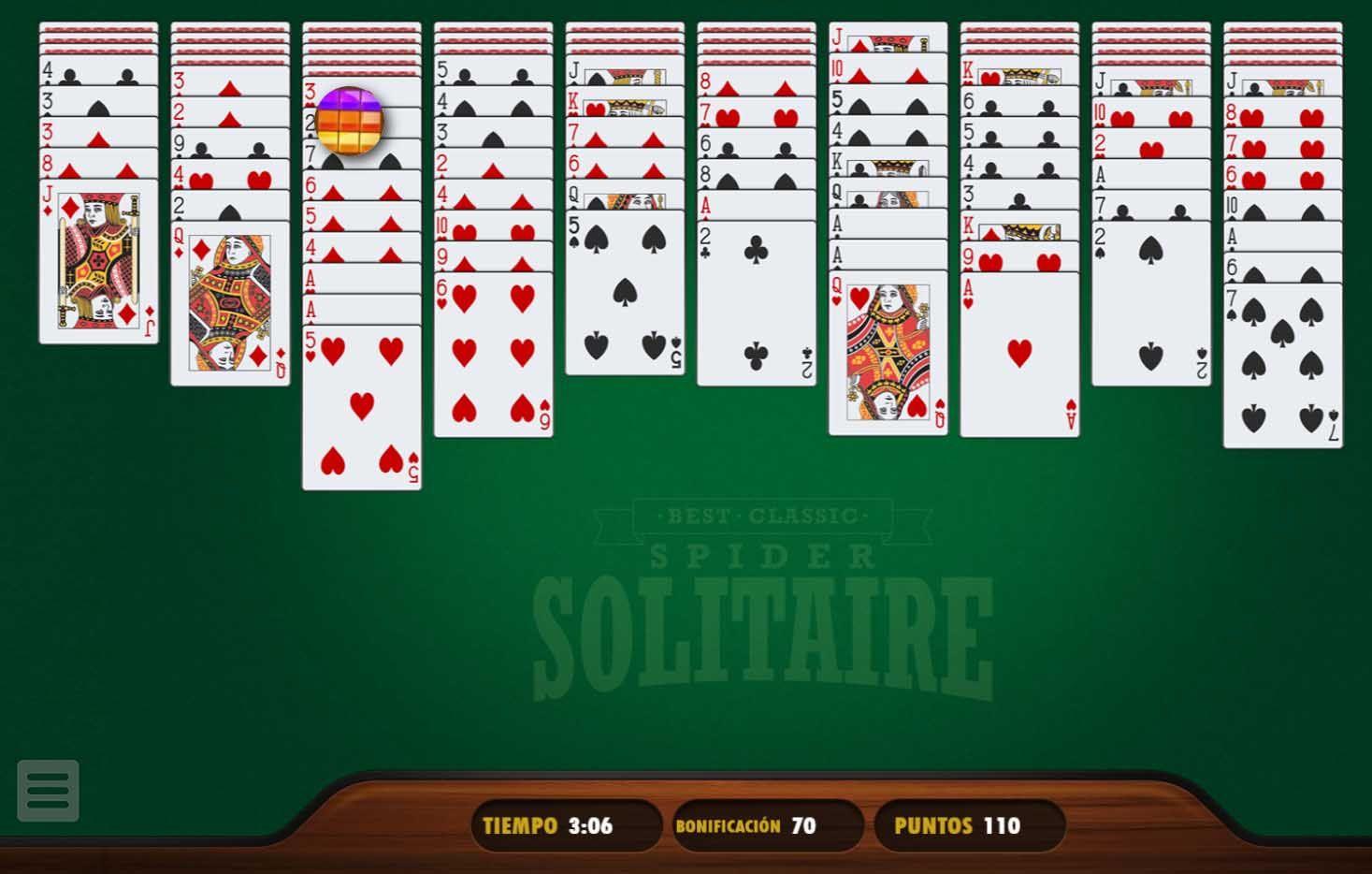 pantalla distrito Pionero  Solitario Spider Gratis - Solitario Spider Arkadium | Solitario, Juegos de  cartas, Juego de naipes