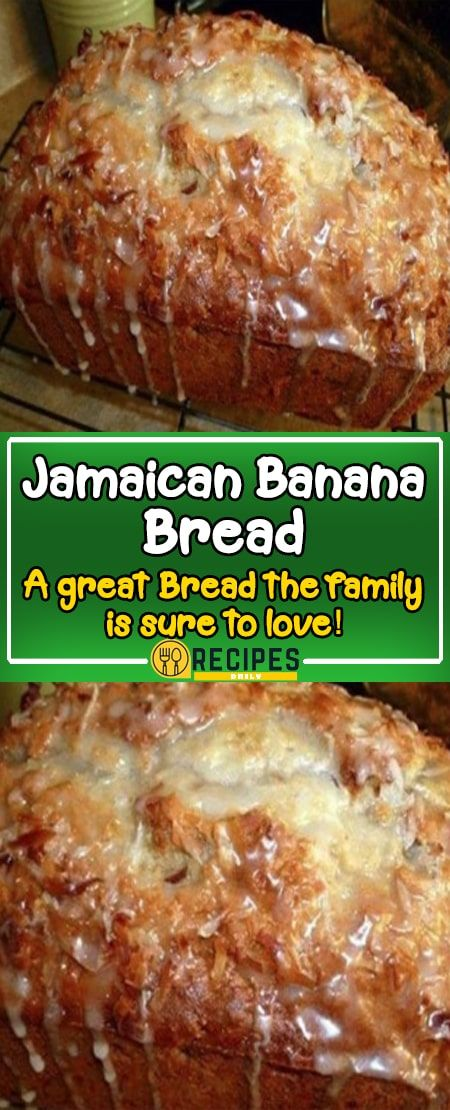 Jamaican Banana Bread A Great Bread The Family Is Sure To Love Skinny Recipes Best Banana Bread Banana Recipes Ripe Banana Recipe
