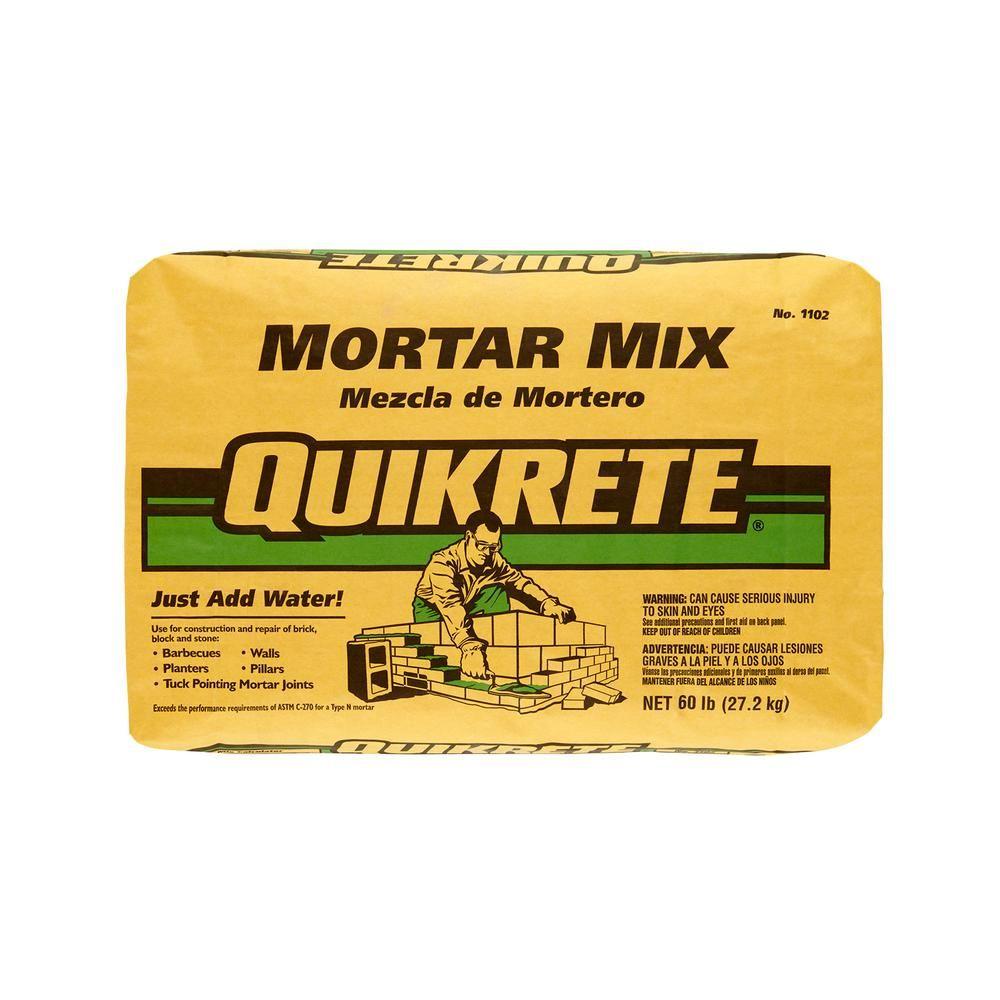 Quikrete 60 Lb Mortar Mix Mortar Cement Concrete Sealant
