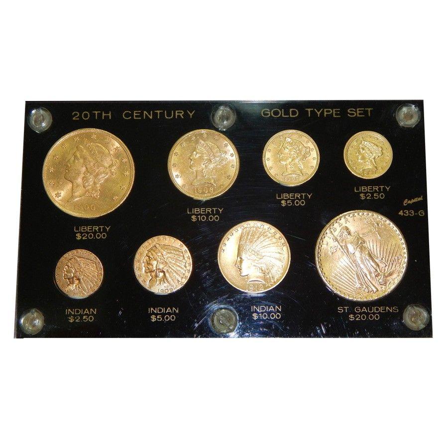 U S 20th Century Gold Type 8 Coin Set Coin Set Gold Bullion Bars Gold Stock