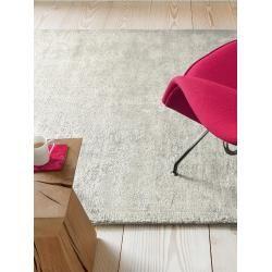 Photo of benuta Viskoseteppich Dolce Grau 120×180 cm – Moderner Teppich für Wohnzimmer benuta