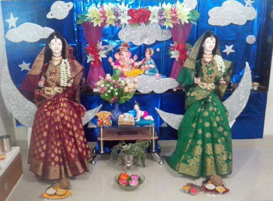 Ganpati Decoration Ideas At Home Ganpati Decoration Ideas Pinterest Decoration And Diwali