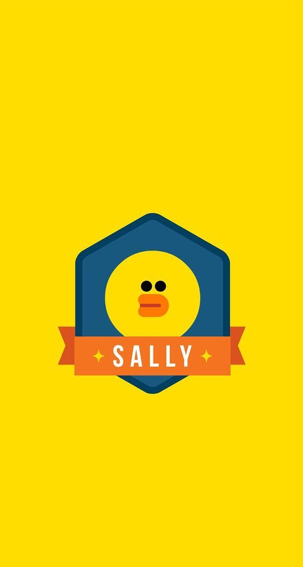 Sally Badge Wallpaper Friends Wallpaper Line Friends Bear Wallpaper