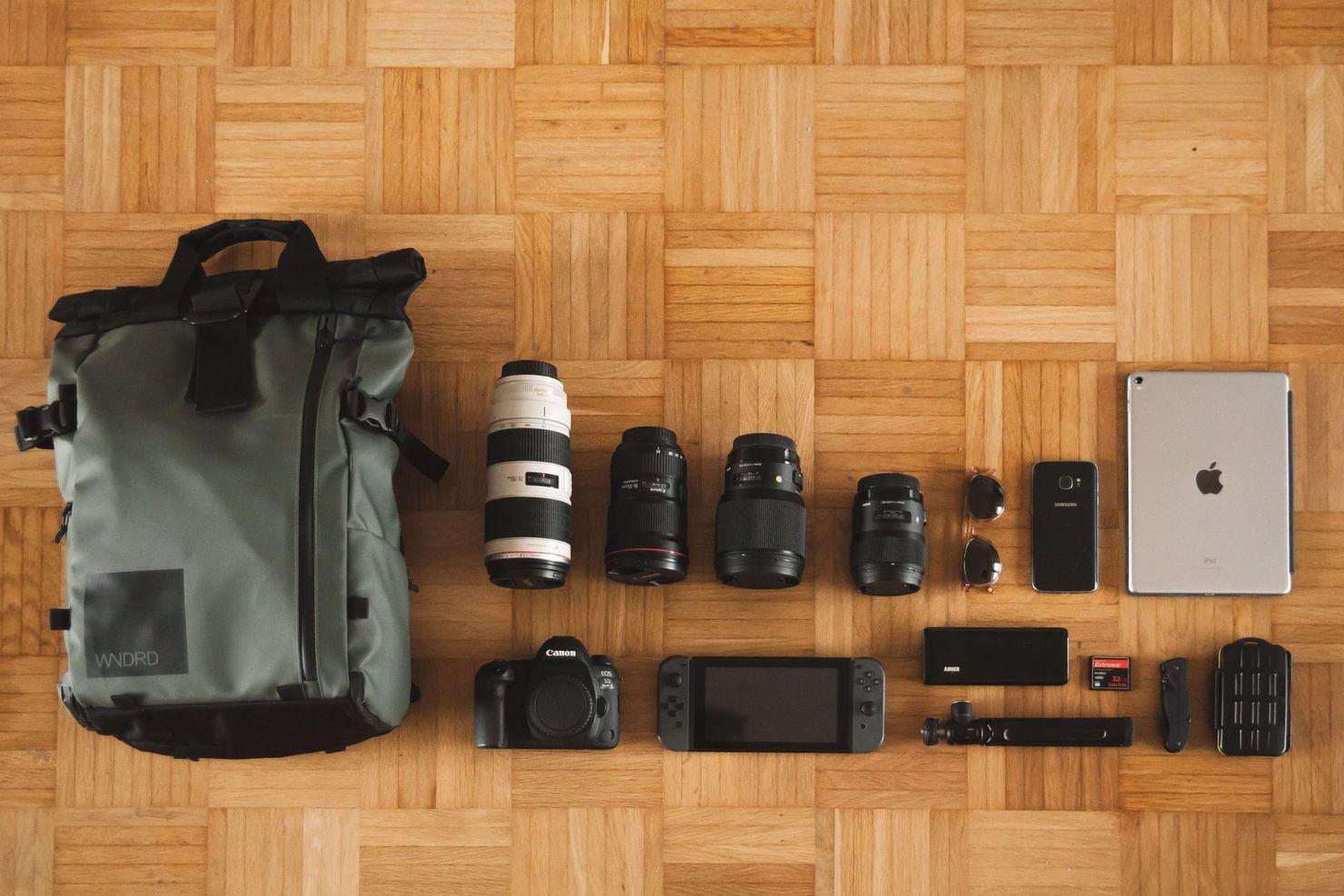 Fotorucksack Wandrd Prvke 21 Kamera Canon 5d Mark Iv Objektive Lensa Ef 70 200mm F 28l Is Ii Usm 200 Mm 28 L 16 35 Iii Sigma 85 14 Dg