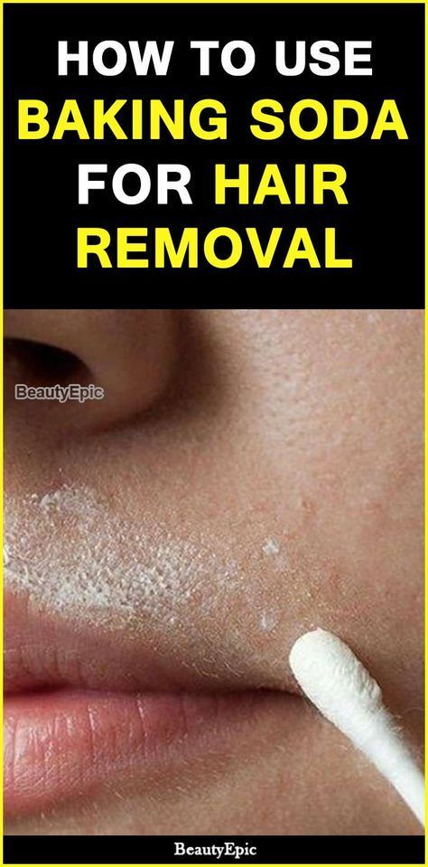 How to Use Baking Soda for Hair Removal? #hairremoval