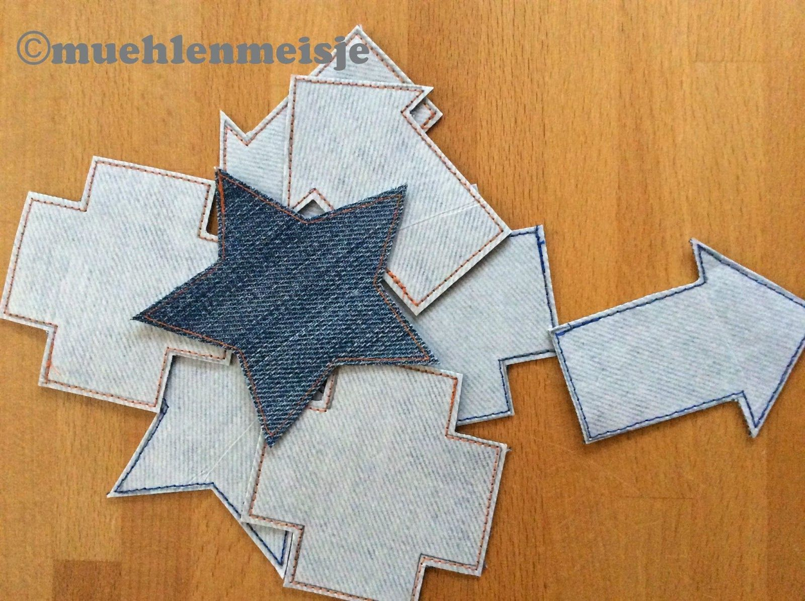 hosenflicken selbstgemacht handmade jeans patches. Black Bedroom Furniture Sets. Home Design Ideas