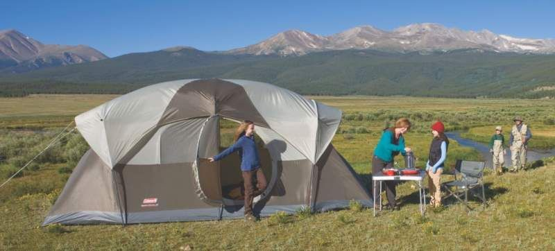 Coleman Weathermaster 10 Person Outdoor Tent In 2020 10 Person Tent Best Tents For Camping