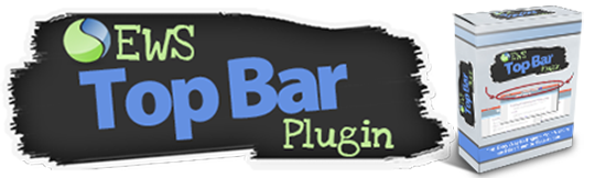 So What Is EWS Top Bar Plugin? You can also gain ...