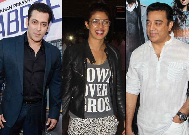 Modi called bollywood personalities on October 02, for Swachh Bharat Campaign to joining hand together. Salman Khan, Priyanka Chopra, Aamir Khan, Kamal Hassan #NarendraModi #PMO #SwachhBharatAbhiyan #CleanIndiaCampaign #PriyankaChopra #SalmanKhan #AamirKhan #KamalHassan