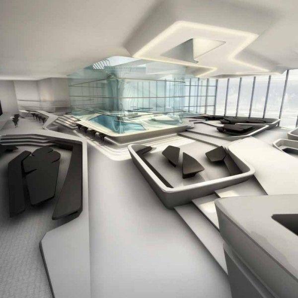 Dubai opus hadid deconstructivism deconstructivism for Interior design zaha hadid
