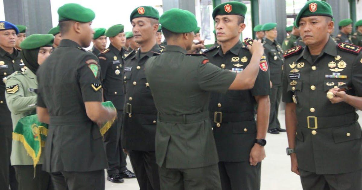 Banjarmasin Kalsel Jabatan Komandan Kodim 1002 Barabai Diserah Terimakan Dalam Upacara Pengambilan Sumpah Jabatan Penandatangan Pakta Militer Menyerah Empati