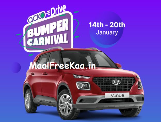 Bumper Carnival Contest Win Hyundai Venue Car in 2020
