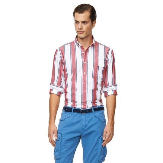 Sailor Stripe Pullover Shirt