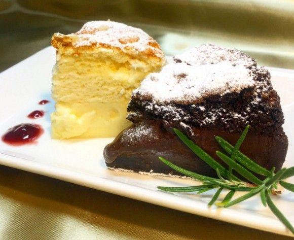Photo of ケーキに魔法をかけました。1度焼くだけで3つの食感が味わえるし、割とマジでうまいマジックケーキの作り方【ネトメシ】 : カラパイア