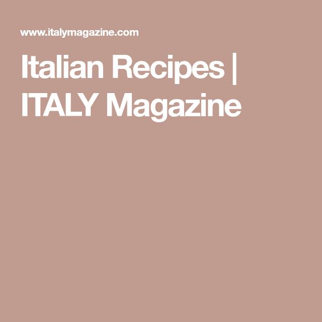 Photo of Italian Recipes