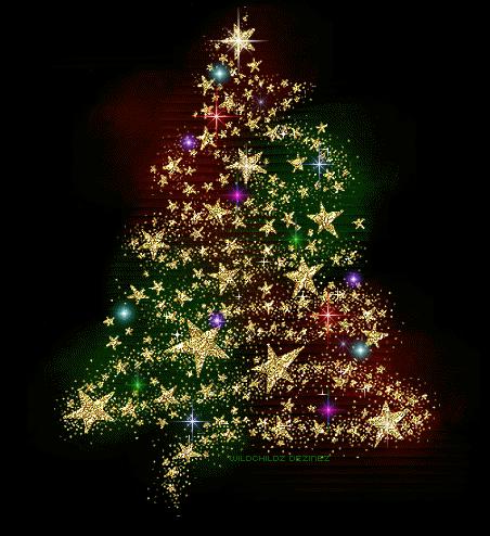 So Cool Merry Christmas Gif Christmas Tree Glitter Animated Christmas