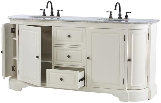Davenport Double Bath Vanity Love All Of The Storage Would Need To Change The Hardware Granite Vanity Tops Double Bath Bath Vanities