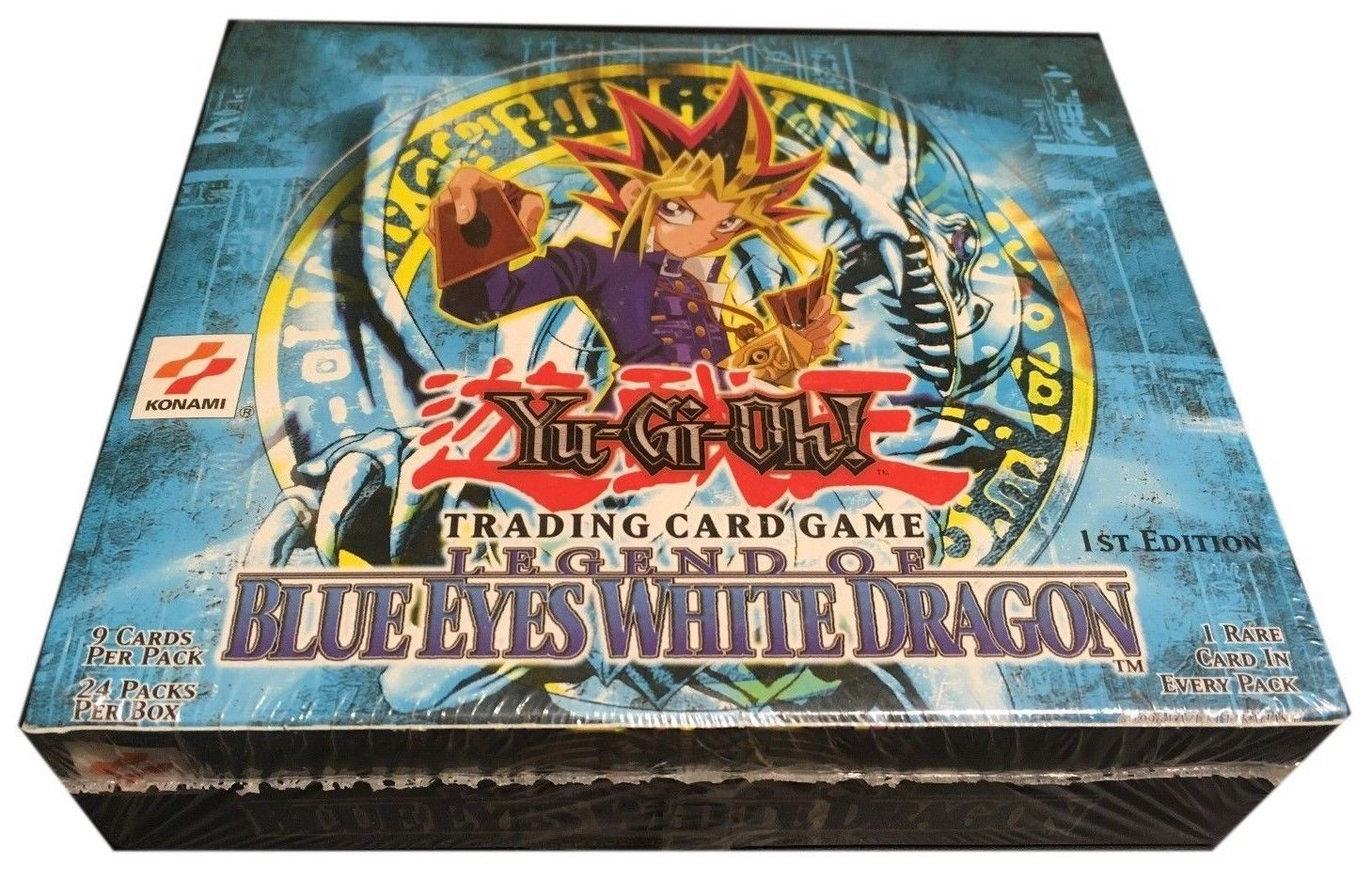 Yugioh North American 1st Edition Legend Of Blue Eyes Booster Box