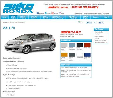 Silko Honda Design Agency Web Development Design Branding Design