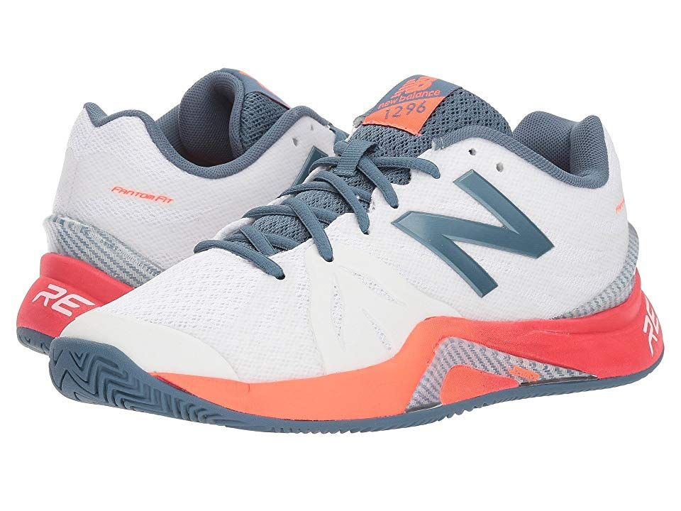 New Balance Wch1296v2 Tennis White Dragonfly Women S Tennis Shoes Get The Advantage On The Tenni White Tennis Shoes Platform Tennis Shoes Wedge Tennis Shoes