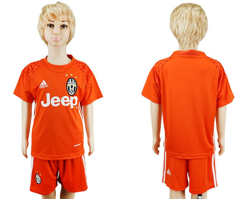 pretty nice b4113 ad138 16-17 Juventus youth goalie soccer jersey orange goalkeeper ...