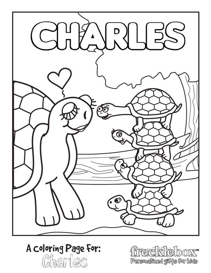 Personalized Coloring Pages - http://designkids.info/personalized ...