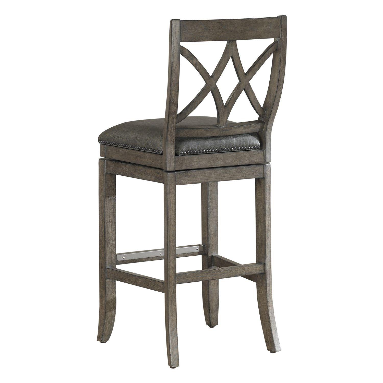 American heritage hadley 26 swivel bar stool american