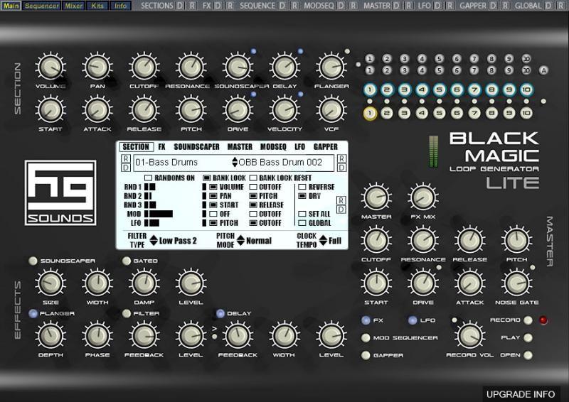 Black Magic Lite http://hgsounds.com/product/black-magic-lite-loop-generator-free-vsti/