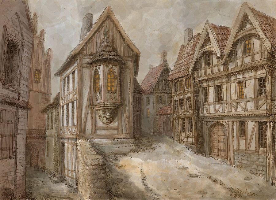Medieval town 2 by ~Hetman80 on deviantART