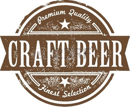 Craft Beer Label Stock Vector  Beer Logo    Craft Beer