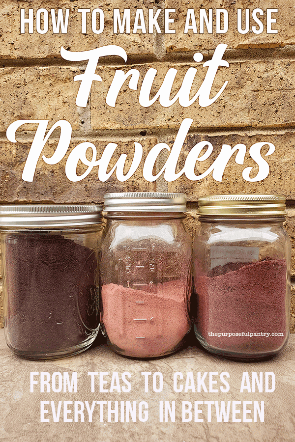 Photo of 25+Ways to Use Fruit Powders